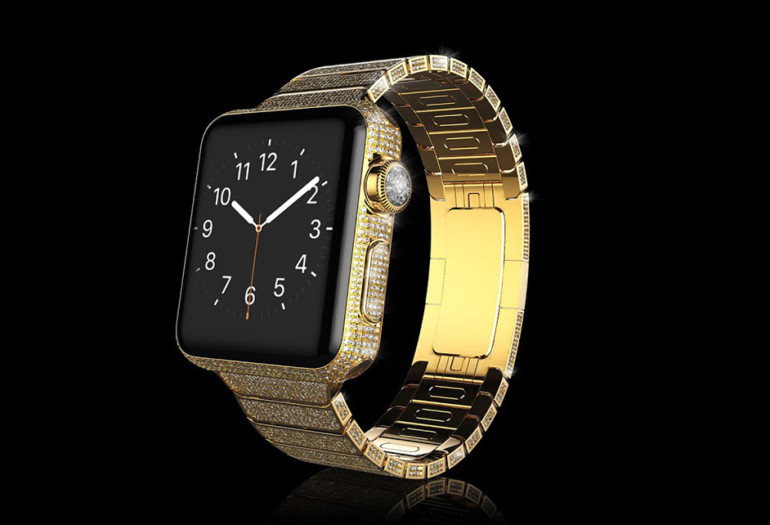New Apple Watch in 24k Gold. #OHMG!