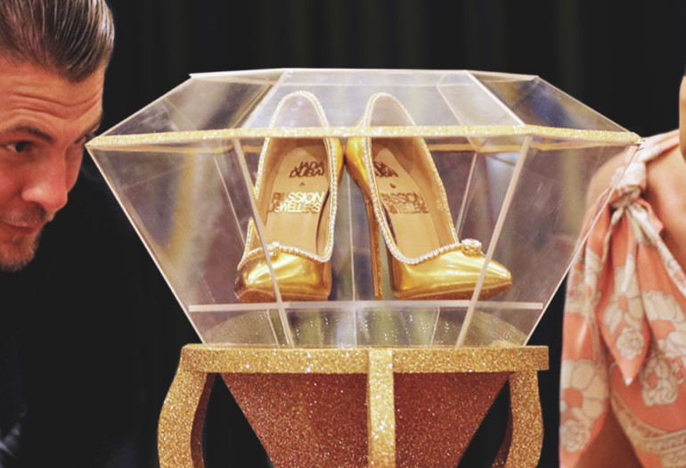 All about $17 Million Jada Dubai shoes. #OHMG!