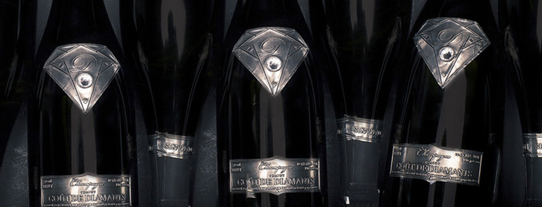 All about the $1.8 million Champagne bottle. #OHMG!