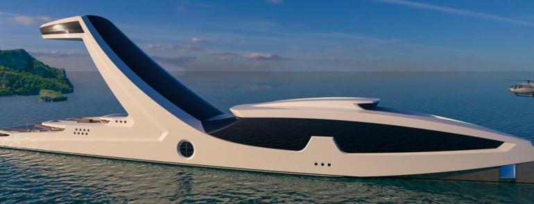 Shaddai, lo yacht super lusso progettato da un giovane designer italiano