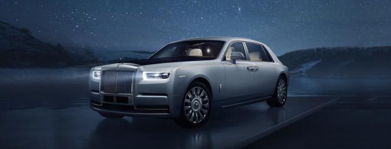 Rolls-Royce Phantom, lusso spaziale